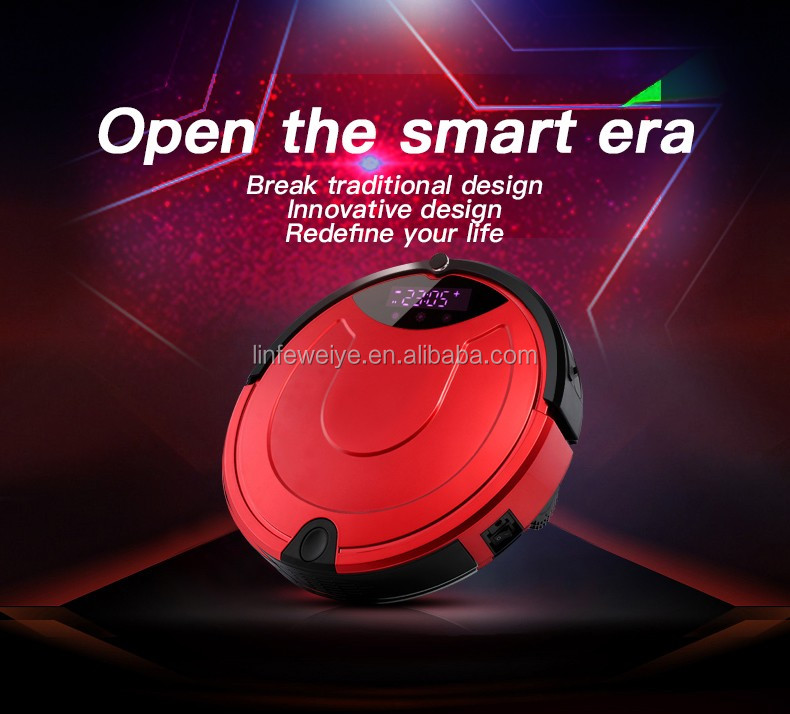 Good Quality Vacuum Cleaner Robot Water Tank Wet and Dry Mopping Vacuum Cleaner