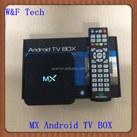 Newest MX android smart box dual core aml8726 1gb/8gb flash xbmc 13.0 mx tv box