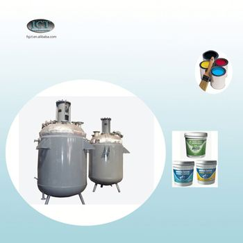 exterior paint epoxy resin reactor