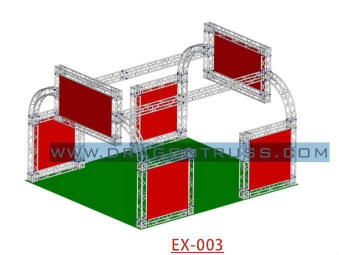 6x6m aluminium Exhibition Truss Booth