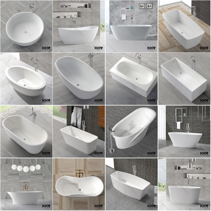 freestanding stone bathtub glacier white, indoor hot tubs sale