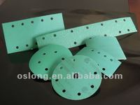 Green Film disc for auto film sandpaper film abrasive