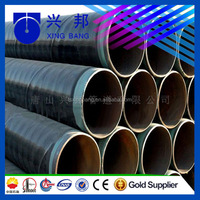 liquid natural gas LNG steel pipeline with polyethylene wrapping