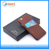 China Wholesale vintage Genuine leather phone case for iphone 6s with dual card slots back