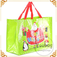 newest pp shopping environmental custom printed tote non woven bag