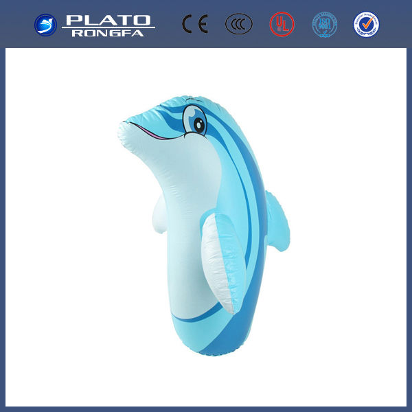 Top Sale! High qualtiy! dolphin animal model, children toy, inflatable animal toy