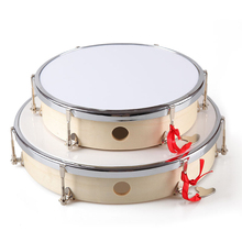 Hot sale toy wholesale instrument music poplar snare drums percussion tunable hand drum