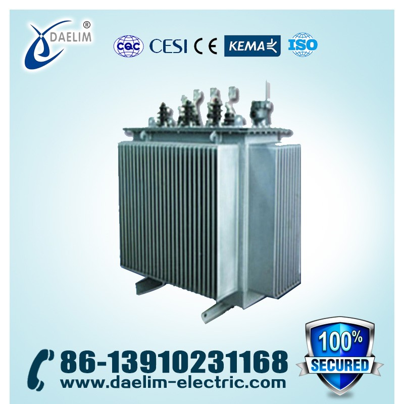 11kv/400v Pole Mounted 2mva Three Phase Distribution Power Transformer