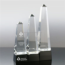New style K9 optical crystal trophy memento souvenirs