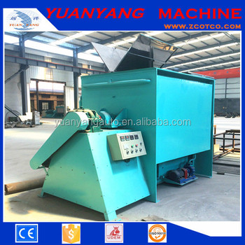 2000L stainless steel Animal fodder Horizontal Double Ribbon Blender Mixer machine