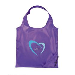 Good Quality Logo Printed Foldable Shopping Bags Polyester