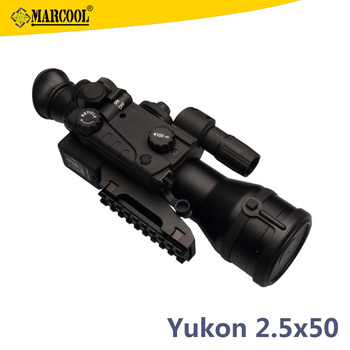 Orginal Yukon 26015T 2.5x50 Hunting Night Vision Image Camera Monocular Riflescope