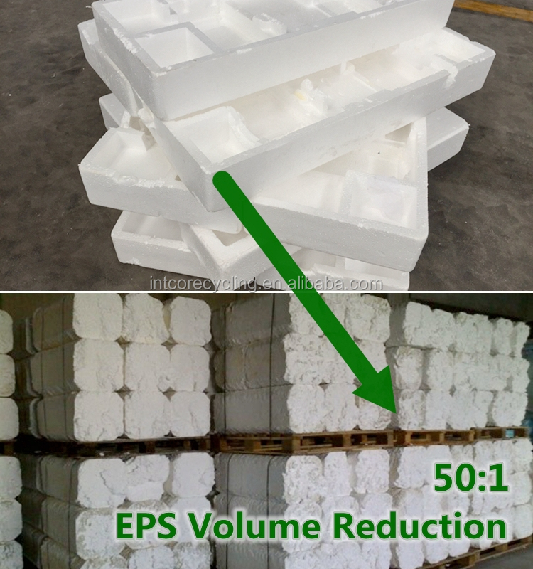 GreenMax recycled large polystyrene eps scrap blocks