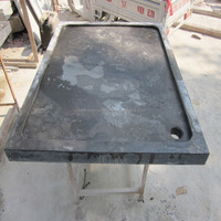 Hot Selling Blue Limestone Tiles Stone Bathroom Shower Tray