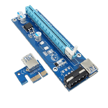 Bitcoin miner asic 006 006c 009s 007 008s 1 to 4 usb 3.0 cable pci-e x1 x16 pcie card riser