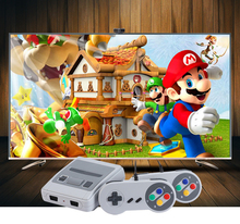 SUPER MINI SFC TV CLASSIC GAME CONSOLE 8 BIT MINI 621 RETRO GAMES PRELOADED