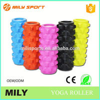 PU exercise yoga fitness high density gym foam roller
