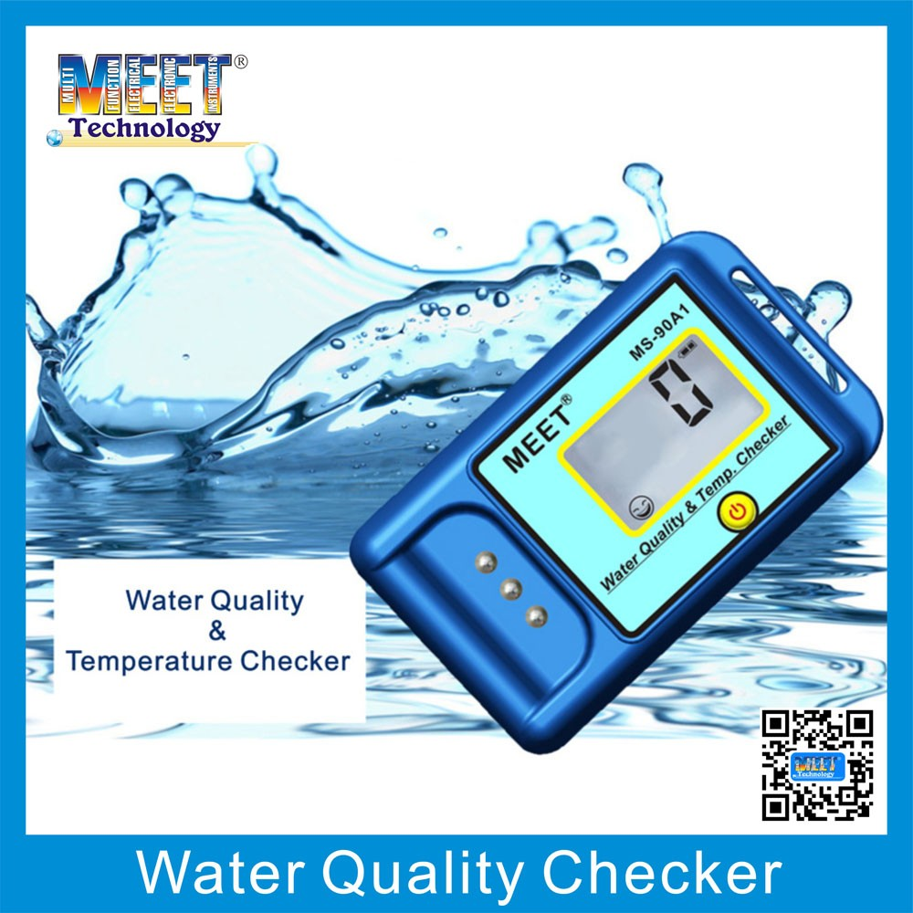 MS-90A1 Portable Water TDS Analyzer with Temperature Indication