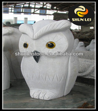 small stone animal carving