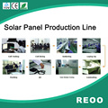 REOO manufacture solar panel 5 MW anunal solar panel production lines
