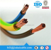 300/300v 450/750v waterproof PVC insulated iec code electric wire