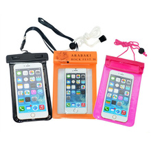 Wholesale hot selling waterproof bag for cell phone