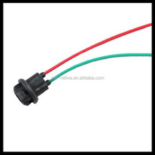 Car T10 194 LED Bulbs Holder Adapter Socket Harness Plugs T10 wedge bulb socket with wires