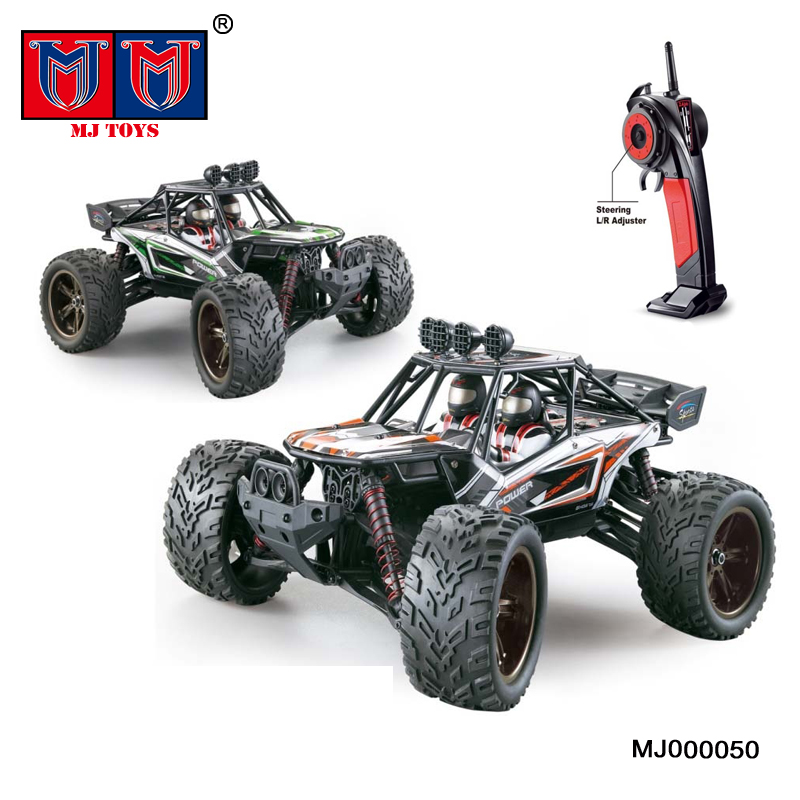 high speed 1:12 4WD big wheels off road race remote control car for kids