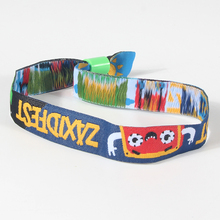 Cheap custom Charity Fabric Wristband For Event with high quality