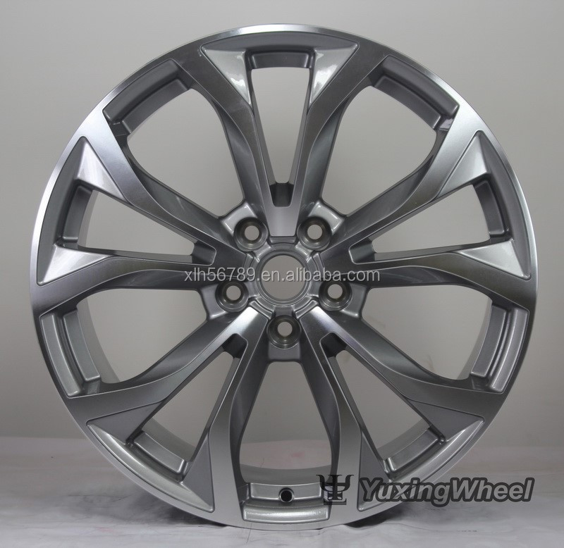 Hot sale 19*8.5 new design car alloy wheels/trd wheels with low price