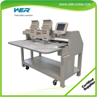 Automatic digital computer embroidery machine