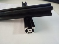 v-slot black extruded aluminum 2020 aluminum profile extrusion
