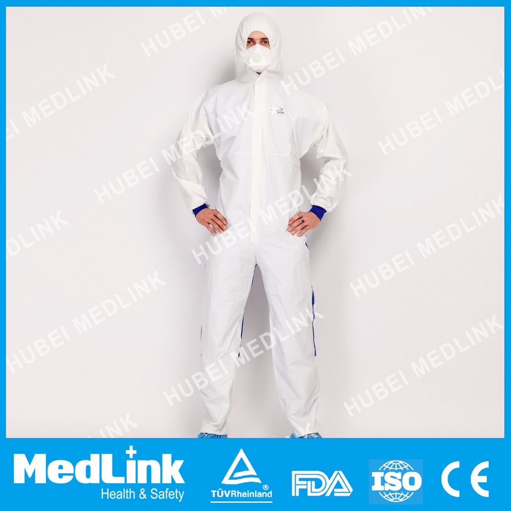 disposable SMS Type 56 coverall with anti-static