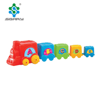 Colorful and educational Choo Choo Train toys