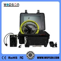 underwater cctv camera with DVR pipe inspection camera