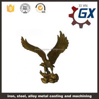 OEM large bronze eagle statue from China