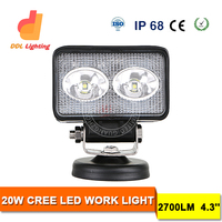4.3inch 20W LED Light Bar Spot Flood Combo Beam Work Lights 4x4 Offroad Truck ATV Car Crees LED Driving Light