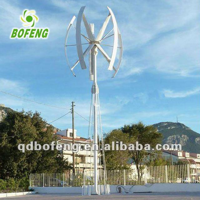 Factory direct sale all kinds of wind turbine pole energy system