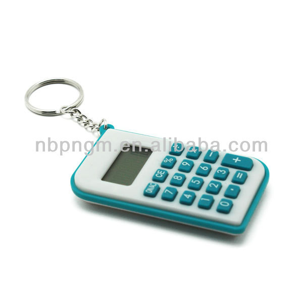 Promotional cheap hot key chain calculator