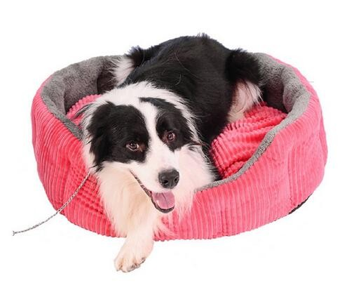 top one yufeng rosey form animal orthopedic round pet bed mattress