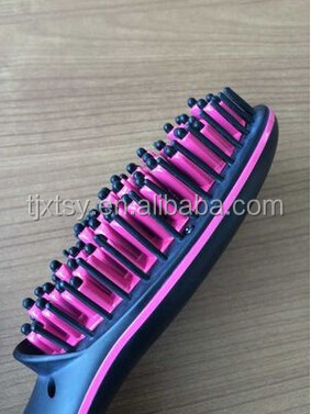 Professional electric Hair Straightening Brush