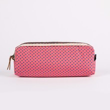 Soft Fabric Covered Korean Style Pencil Case for Children