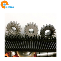 construction hoist racks of plastic rack and pinion gears