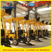 Hot sale crawler hydraulic mining core drilling rig machine price