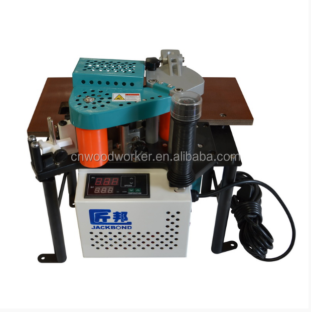 JBT101 small edge banding machine for curved workpiece
