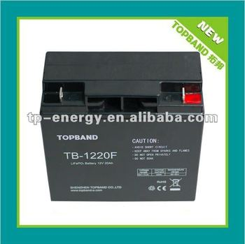 TOPBAND!!! lithium 12 volt battery for electrical golf buggy