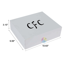 luxury fashion matte cardboard note card boxes