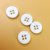 natural fashion Small Size custom logo buttons for winter coat garment button