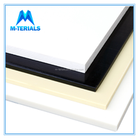 Flexural, compressive strength, tensile strength is low, Natural ABS board, 20MM ABS Plastic Sheet/abs plastic materials