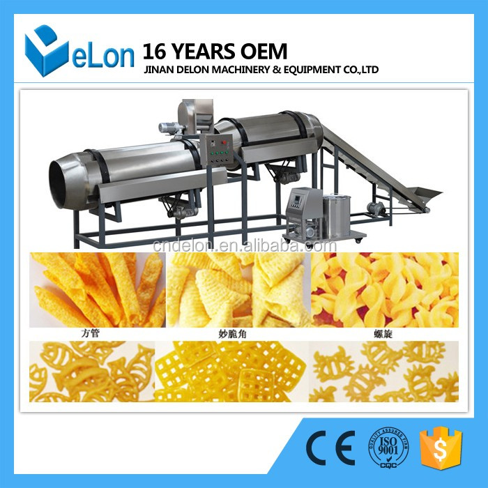 excellent quality full automatic cornflakes machine and prcessing line